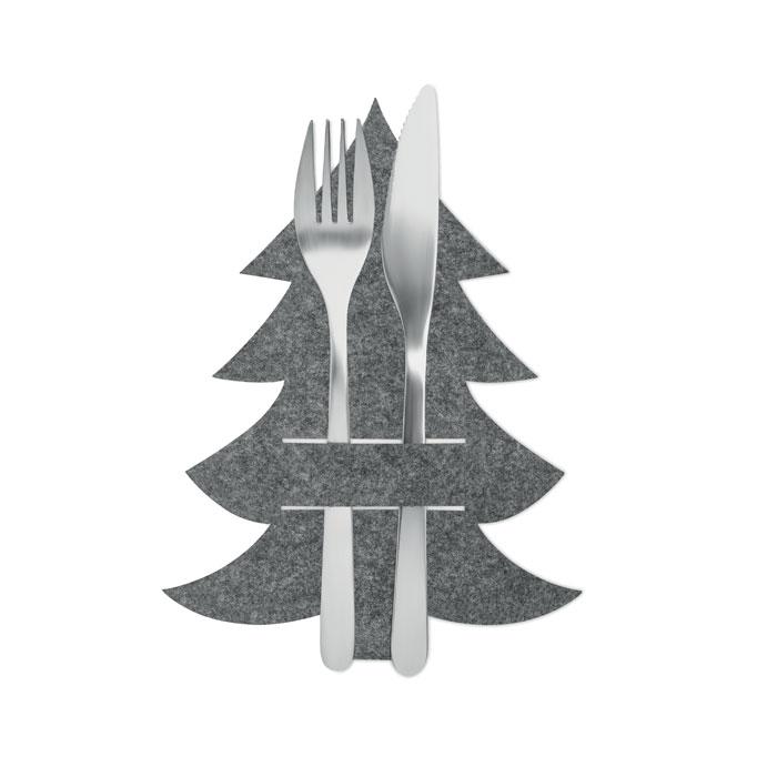 Салфетка из фетра RPET, серый