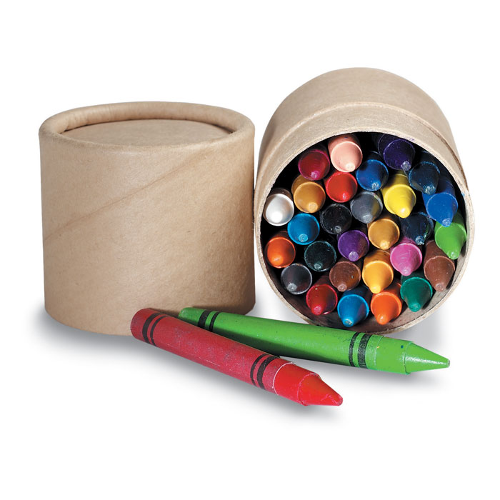 Набор восковых карандашей, бежевый