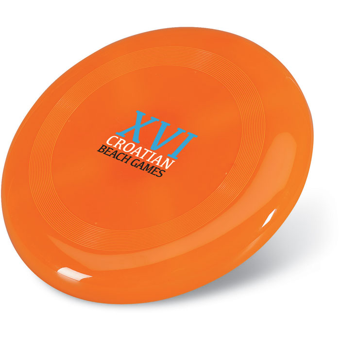 Летающая тарелка, оранжевый