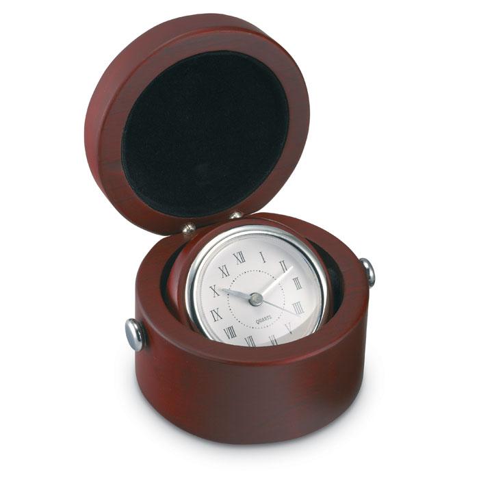 Часы настольные, древесный