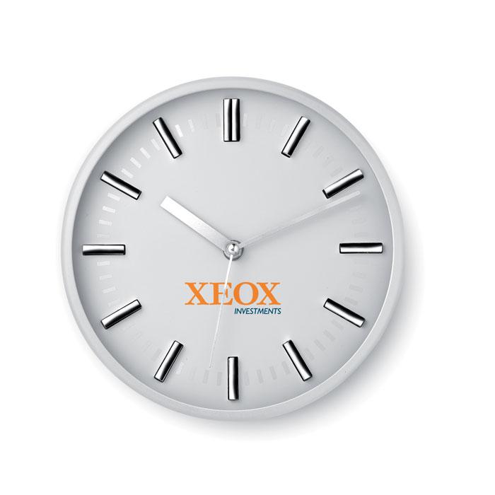 Часы настенные, белый