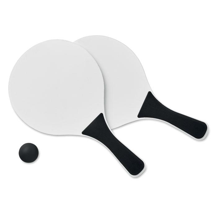 Теннис пляжный, черный