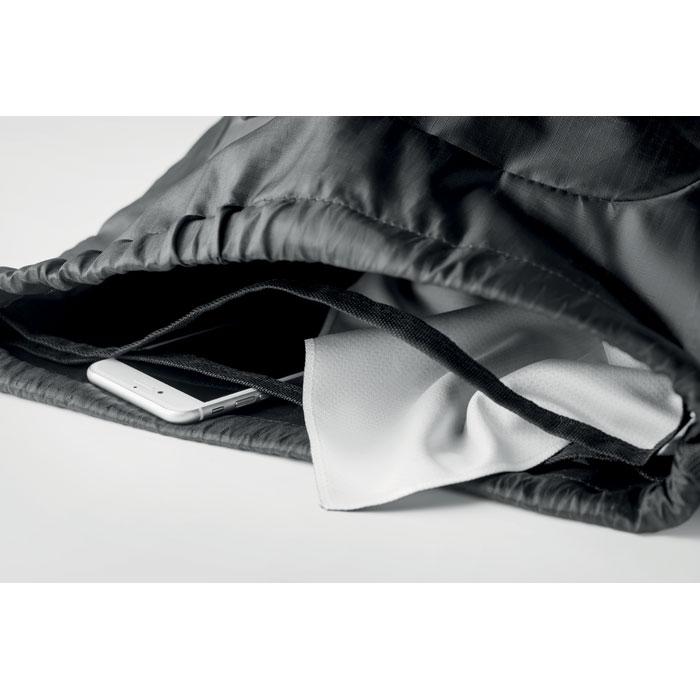 Рюкзак с разделителем, черный