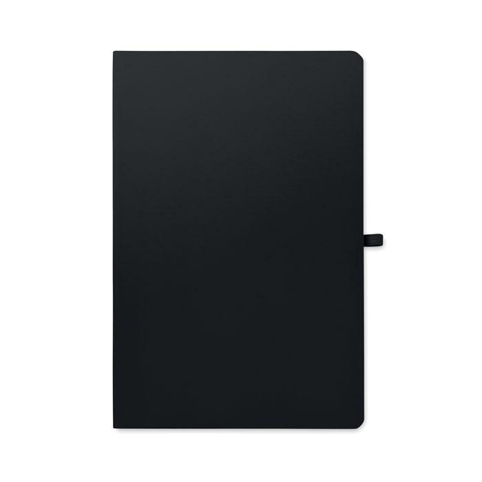 Блокнот А5 в мягкой обложке, черный