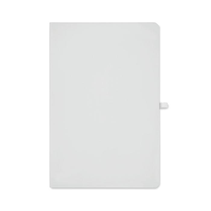 Блокнот А5 в мягкой обложке, белый