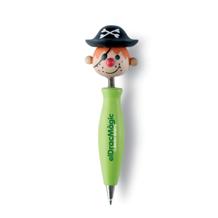 Ручка деревянная, лайм