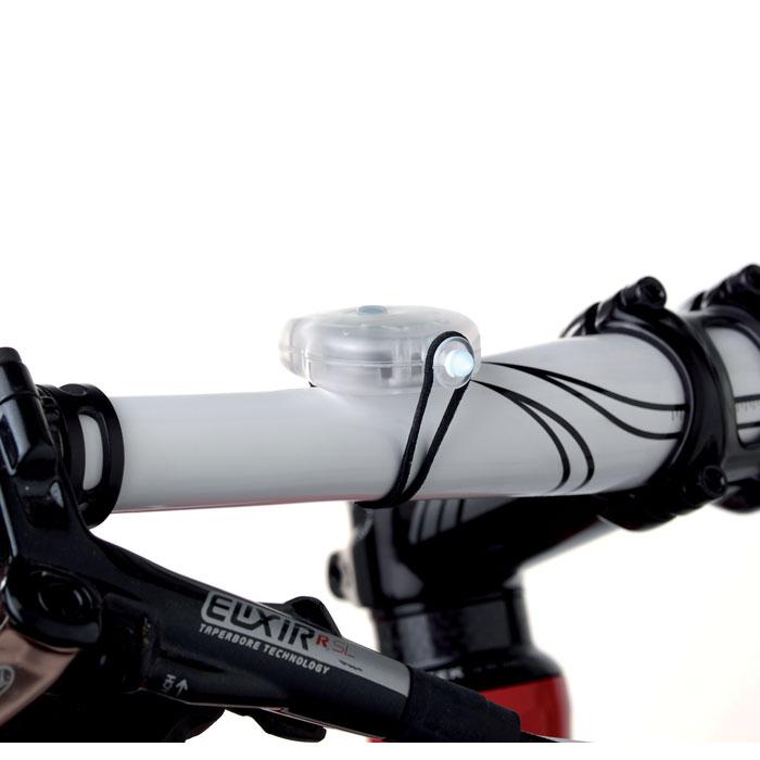 2 фонарика для велосипеда, многоцветный