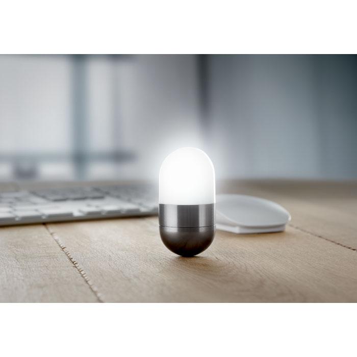 Лампа настольная, темно-серый