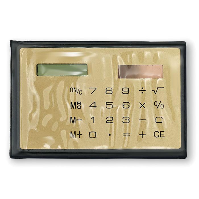 Калькулятор, золотой