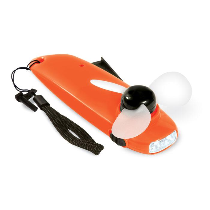Фонарь-вентилятор, оранжевый