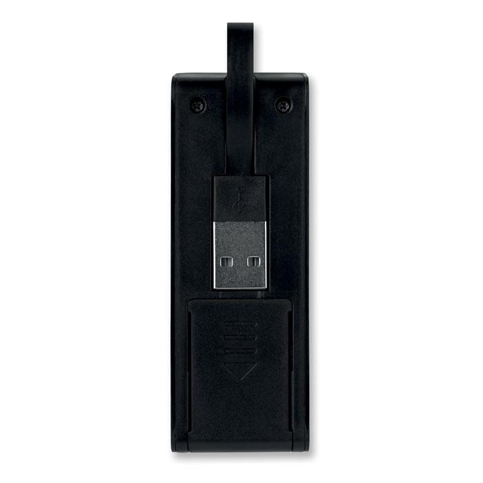 USB разветвитель, черный