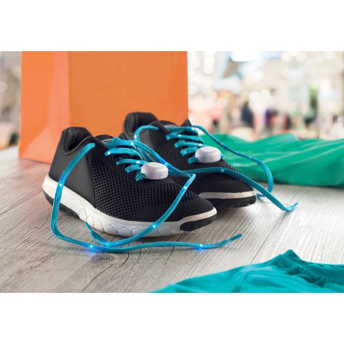 Нейлоновые шнурки с подсветкой