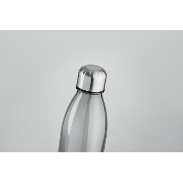 Бутылка для питья, прозрачно-серый