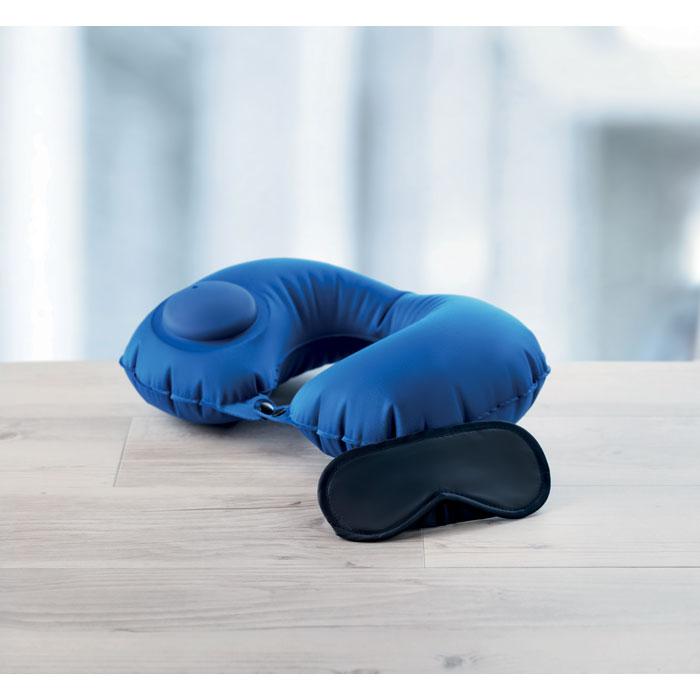 Подушка для сна, синий