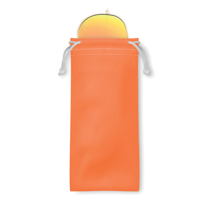 Солнцезащитные очки в чехле из, оранжевый