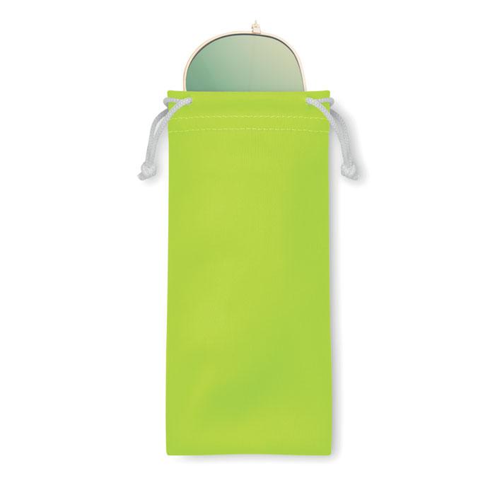 Солнцезащитные очки в чехле из, лайм
