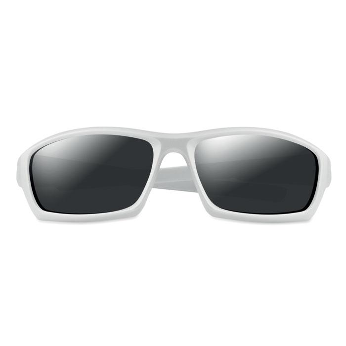 Очки солнцезащитные спортивные, белый