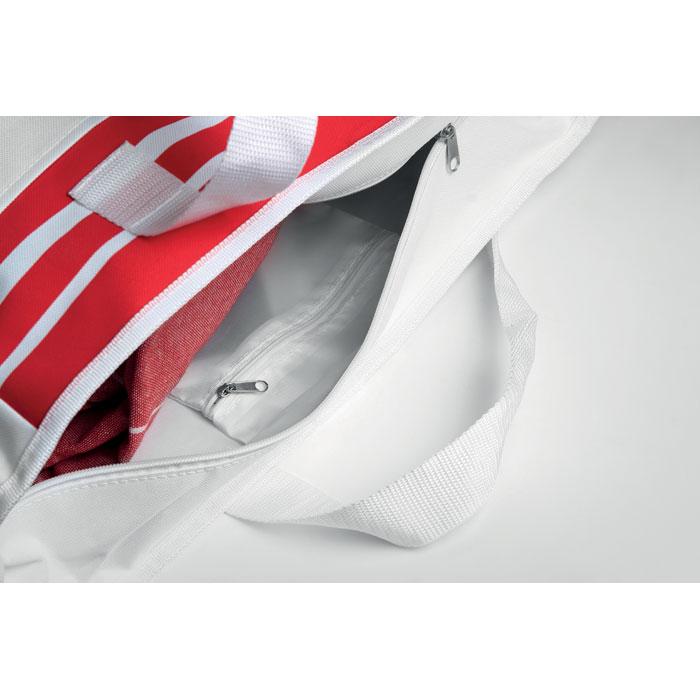 Сумка из полиэстера 600D, красный