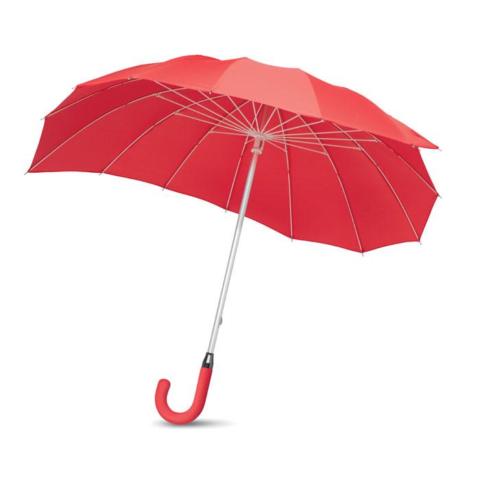 Зонт в форме сердца, красный