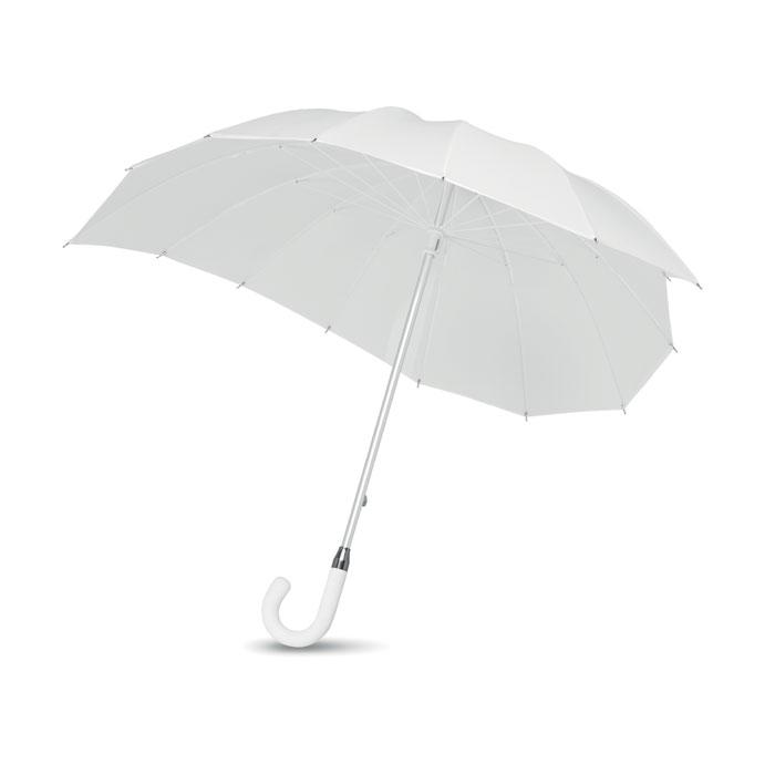 Зонт в форме сердца, белый