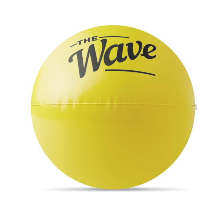 Мяч пляжный со смайликом подмиг