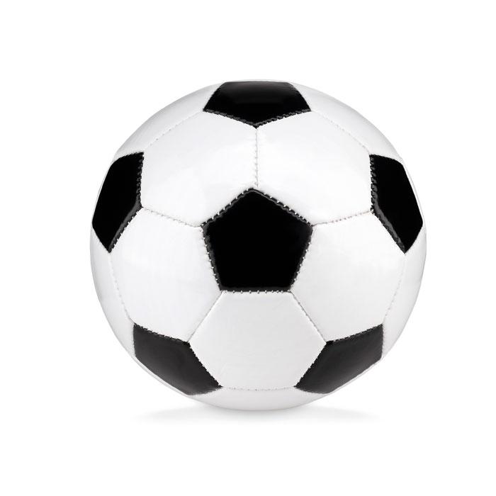 Мяч футбольный маленький, черно-белый