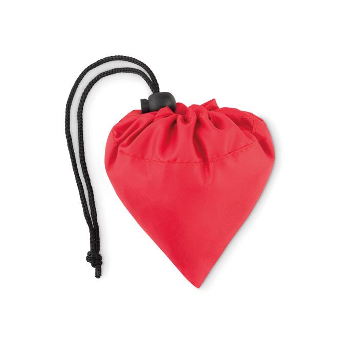Складная сумка для покупок, красный