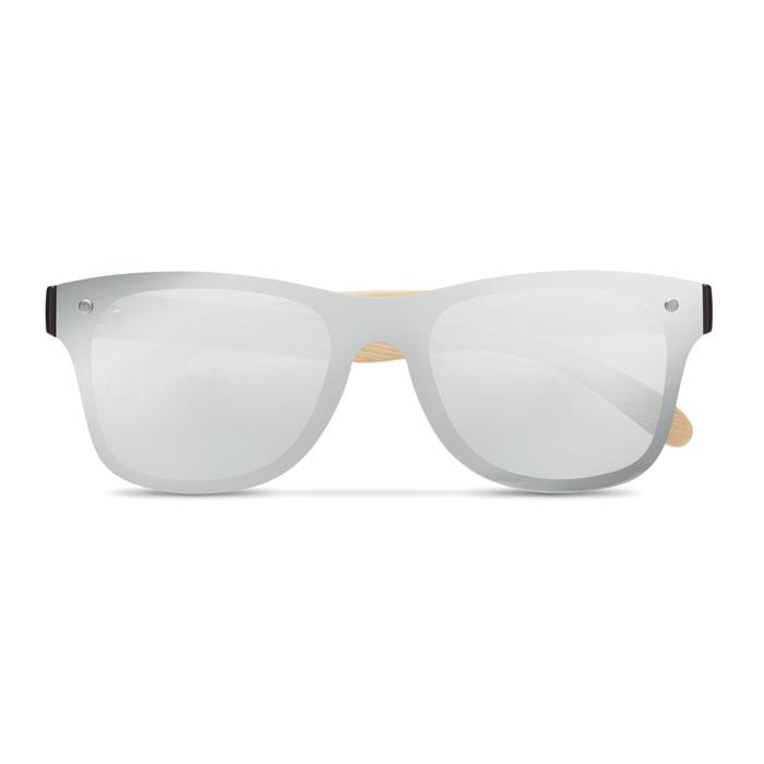Солнцезащитные очки сплошные, серебряный