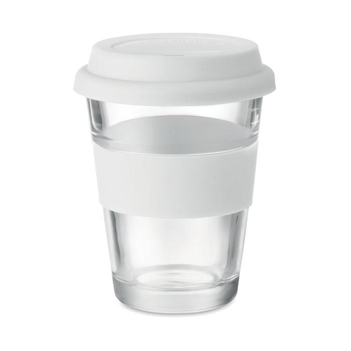 Стеклянный стакан 350 мл, белый