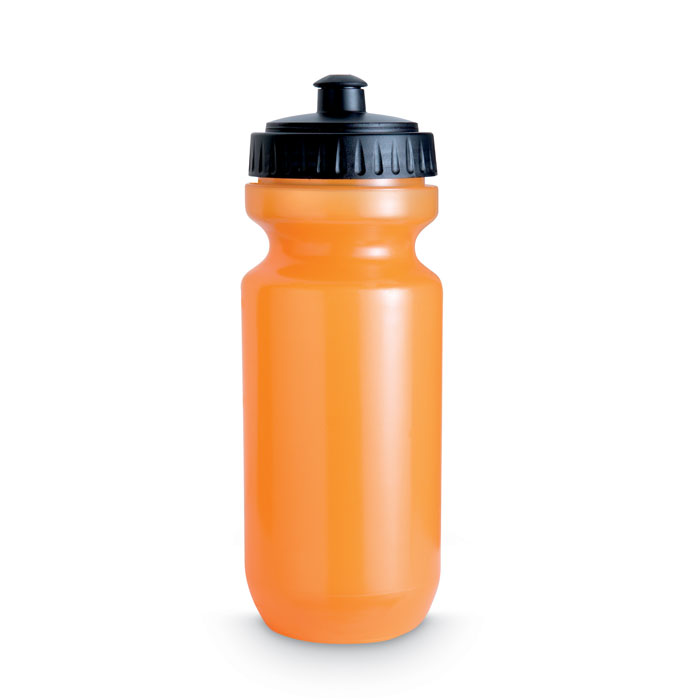 Фляга, прозрачно-оранжевый