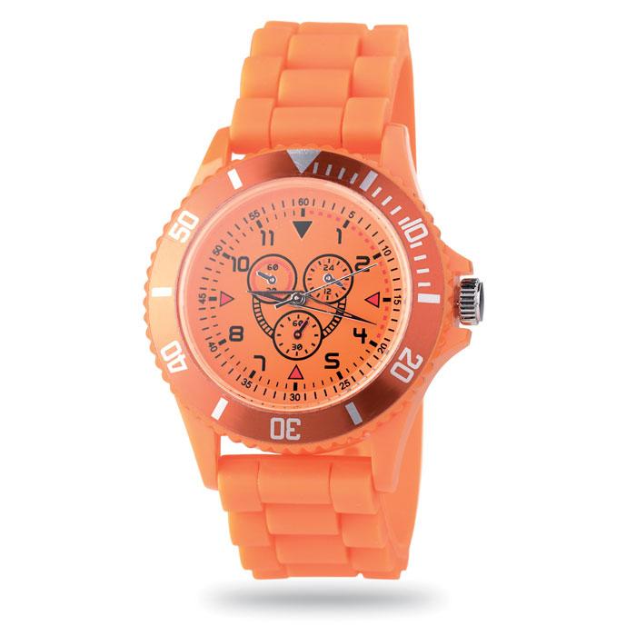 Часы наручные, оранжевый