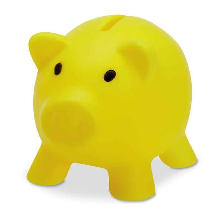 """Копилка """"Свинка"""", желтый"""