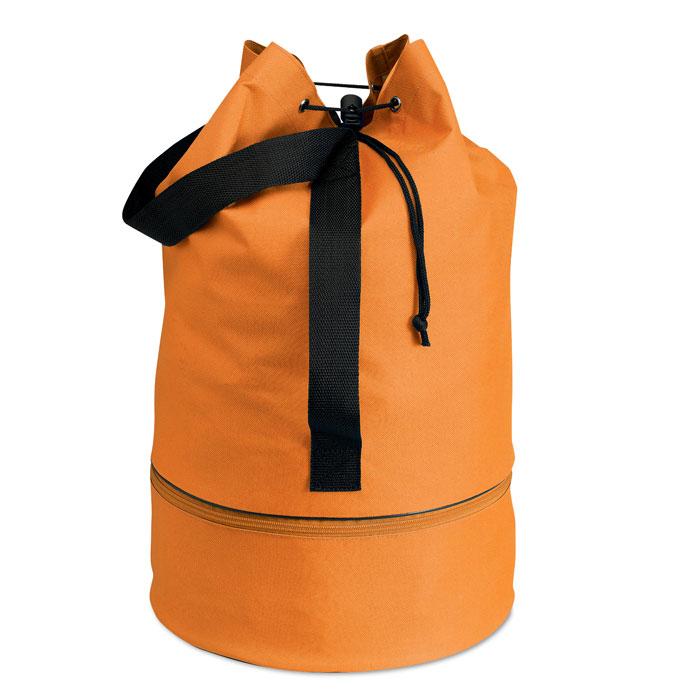 Мешок вещевой, оранжевый