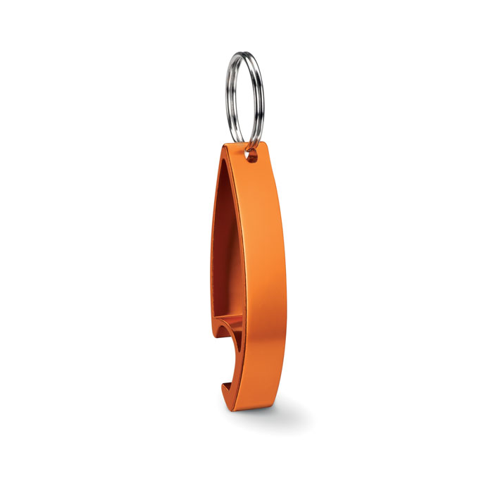 Брелок-открывалка, оранжевый