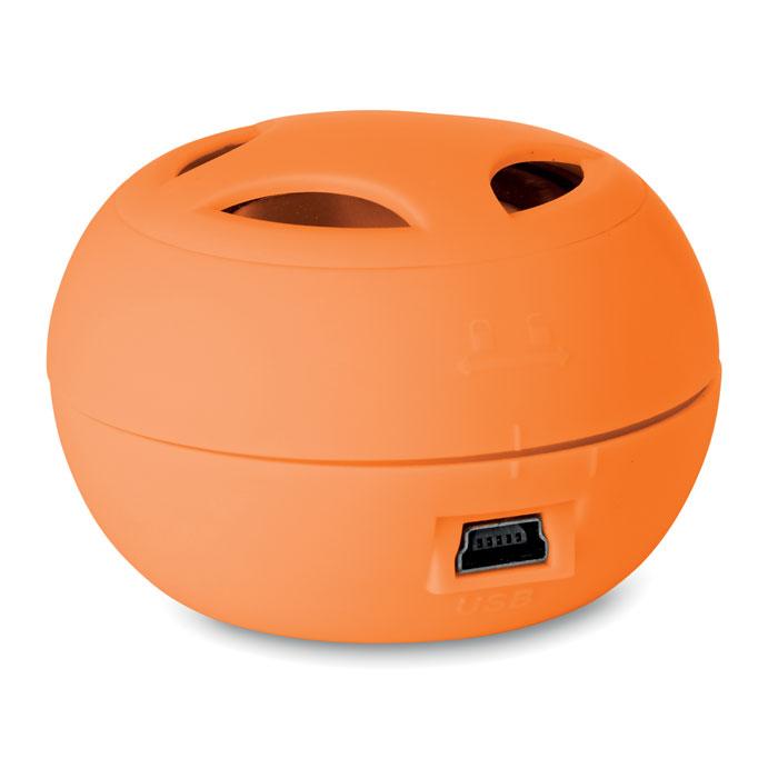 Миниколонка, оранжевый
