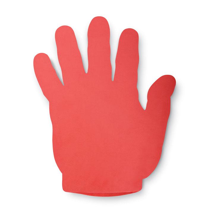 Рука болельщика, красный
