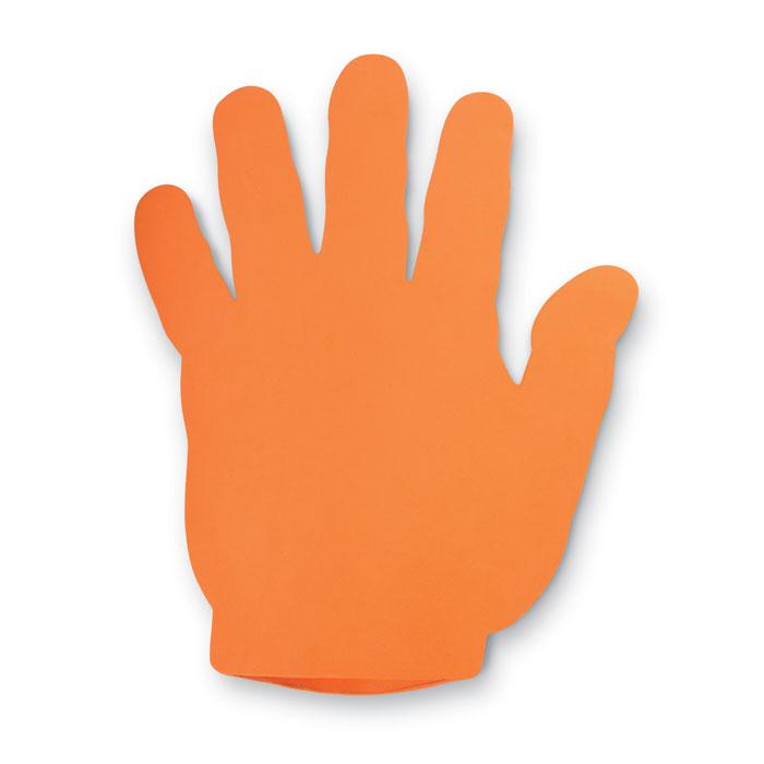 Рука болельщика, оранжевый