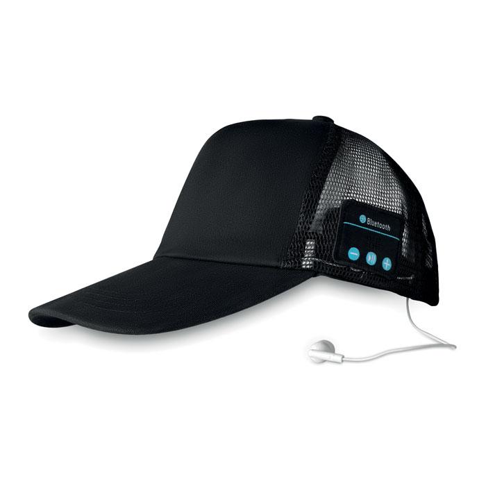 Bluetooth шапка с наушниками