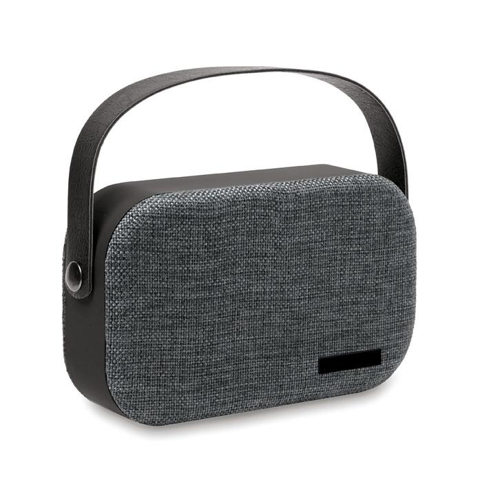 Bluetooth-динамик 2x3W 400 мАч, черный
