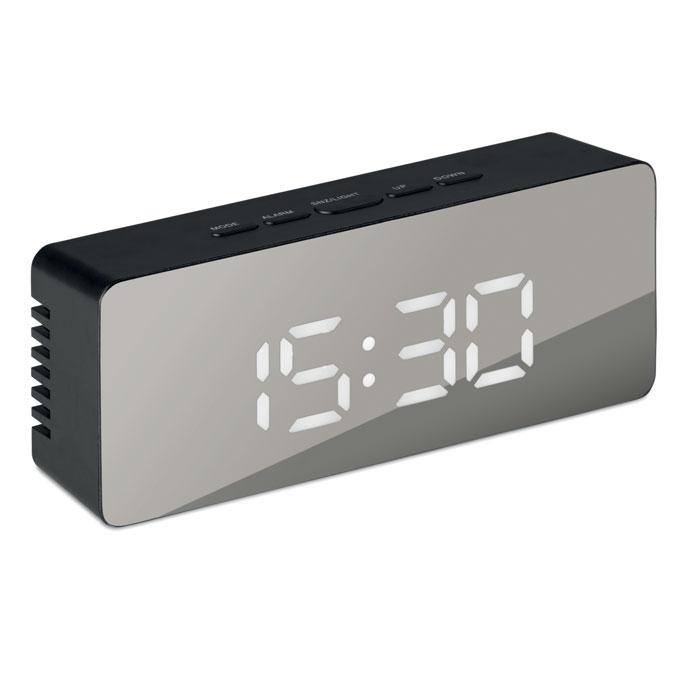Часы-будильник, черный