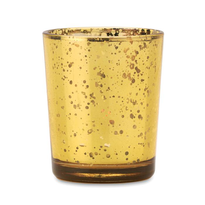 Подсвечник, цвета шампанского