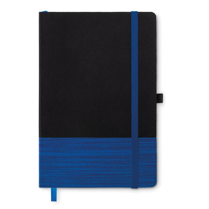 Блокнот А5 на 80 линованных стр, синий