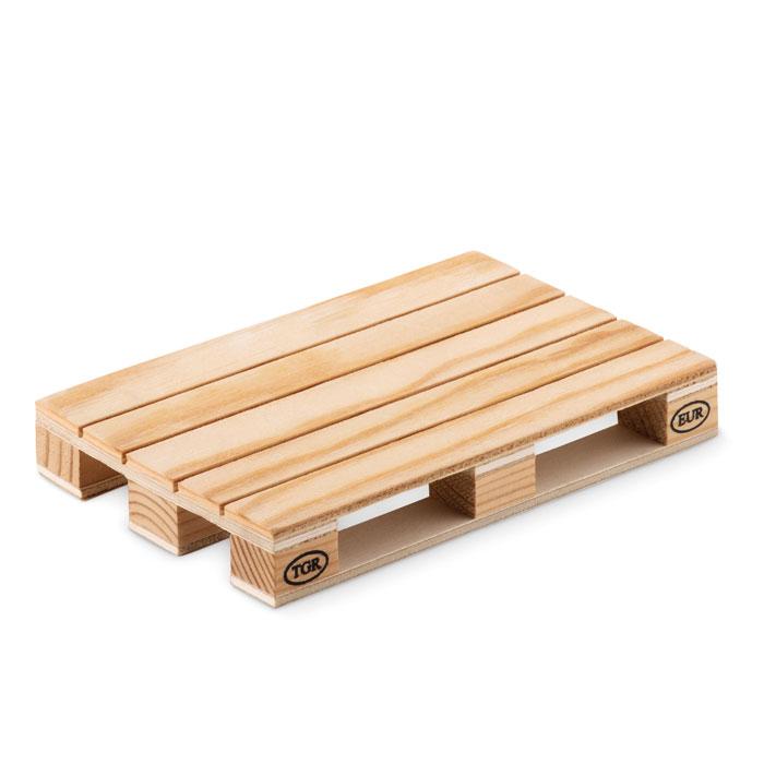 Костер деревянный в форме палле, древесный