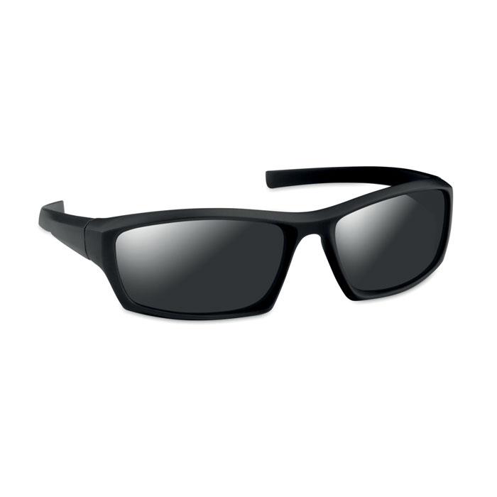Очки солнцезащитные спортивные, черный