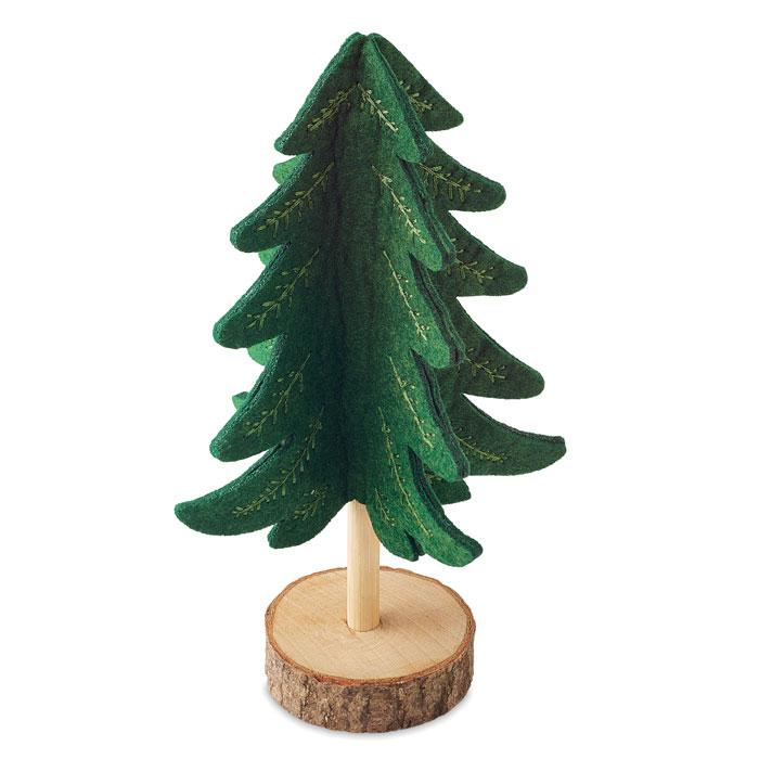 Украшение новогоднее елка, зеленый-зеленый