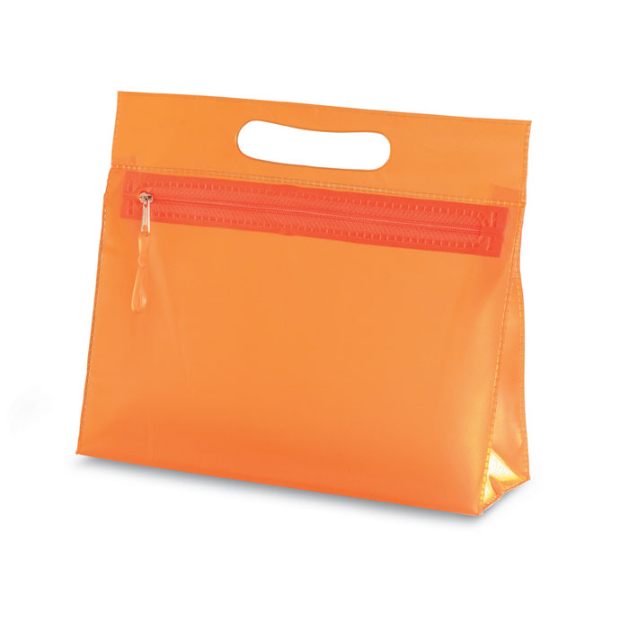 Косметичка, оранжевый