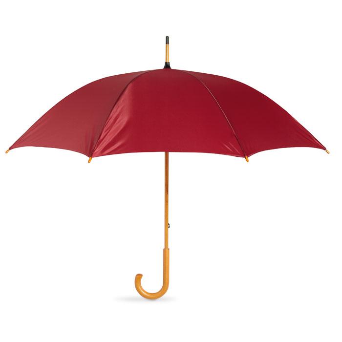 Зонт-трость, красного бургундского вина