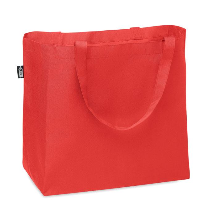 Большая сумка шоппер 600D RPET, красный