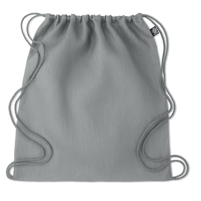 Мешок на шнурках 200 г/м², серый