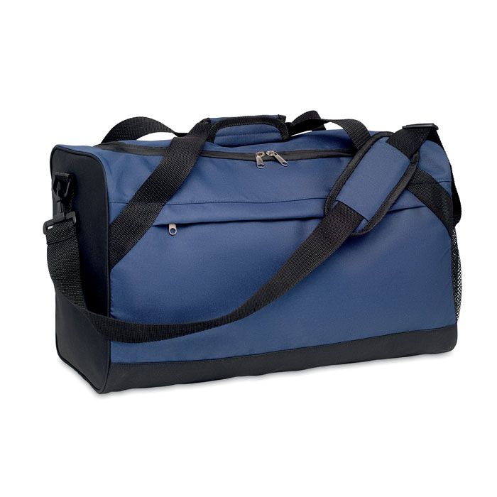 Спортивная сумка 600D из RPET, синий